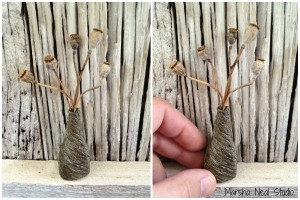 Rustic Seed Pod Collector Vessel