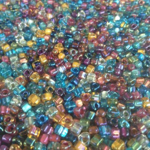 Marsha's Happy Mix Jewel Tones TR5 Beads Marsha Neal Studio