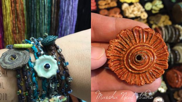 Marsha Neal Studio Work for BeadFest