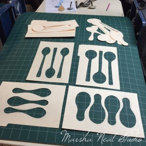 Basic Spoon Shaped Templates