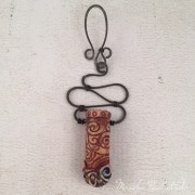 Jenny Davies-Reazor Mixed Media Amulet is the Component of the Month over on Art Jewelry Elements Blog.