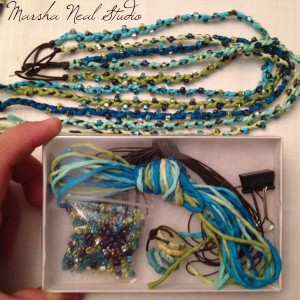 Marsha Neal Studio Beaded Bracelet Kit