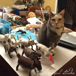 Needle Felted Creatures (Sarafina Style)