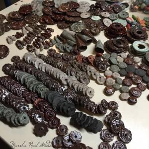 Marsha Neal Studio Stoneware Beads