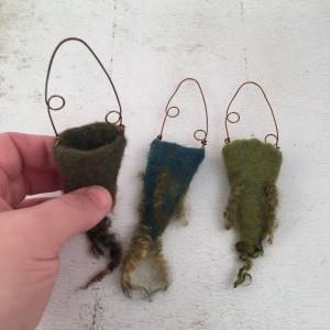 Marsha Neal Studio Wool Vessels