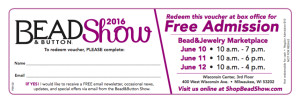 Free B&B Show Admission June 2016