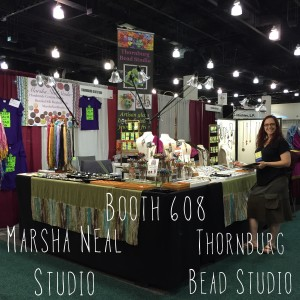 Thornburg Bead Studio and Marsha Neal Studio Booth #608
